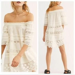 Free People Sounds Of Summer Tunic Off Shoulder